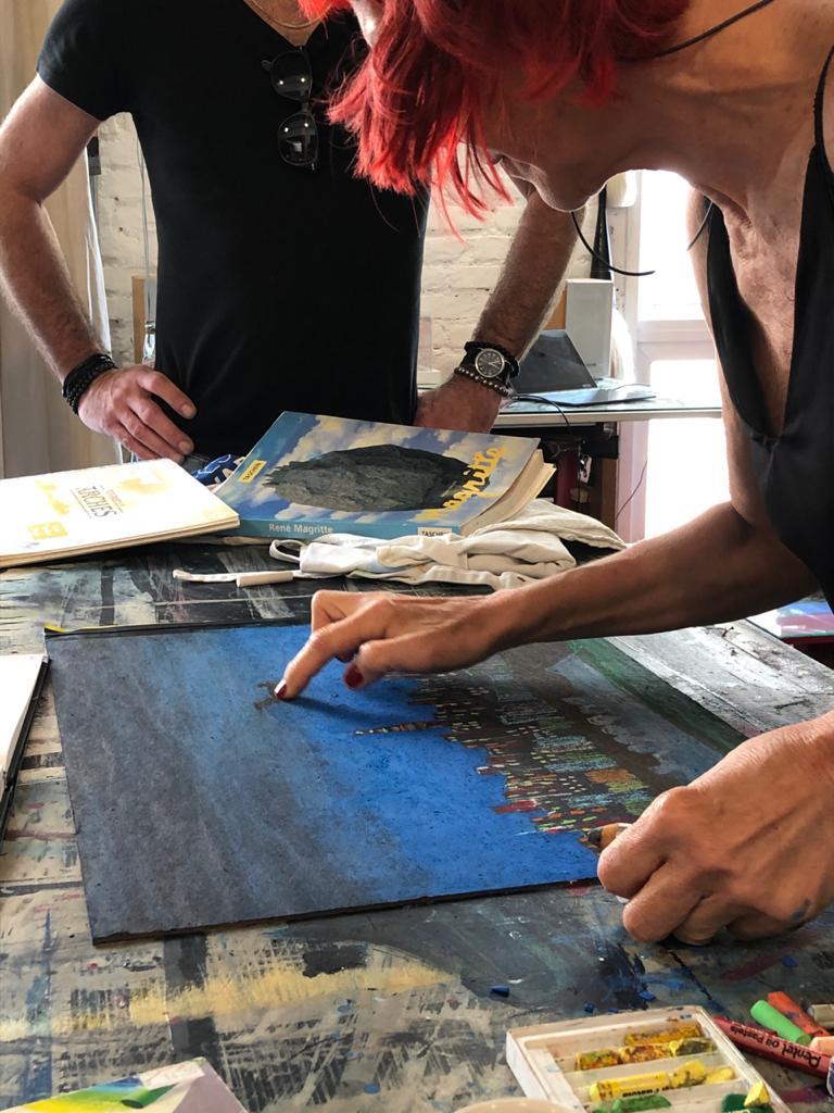 Isabelle Ribot aulas de arte